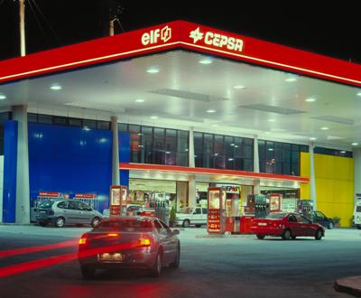 Posto de combustível da Cepsa