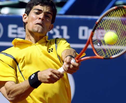 Rui Machado está na segunda ronda do Estoril Open (EPA/Inacio Rosa)