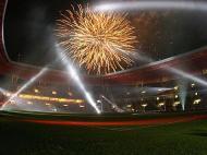 O fogo de artifício assinalou o nascimento do 6º estádio do Euro