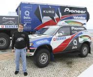 Ricardo Leal dos Santos pronto para o Dakar Series