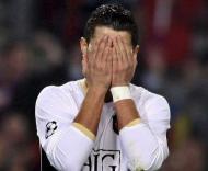 Ronaldo falhou penalty em Nou Camp (EPA/Andreu Dalmau)