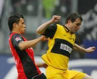 Galindo e Alexander Frei, E. Frankfurt vs B. Dortmund