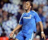 Didier Drogba, Chelsea-Liverpool, meia-final da Liga dos Campeões em Stamford Bridge