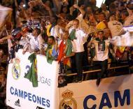 A festa do Real Madrid campeão (Foto EPA)
