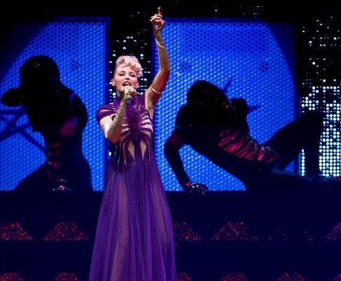 Kylie Minogue em concerto
