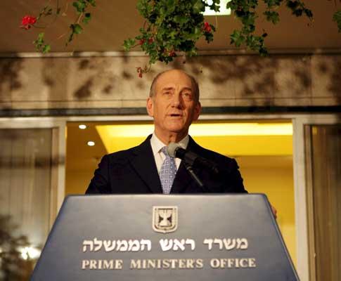 Ehud Olmert [arquivo]