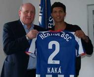 Kaká (ex-Académica) no Hertha de Berlim
