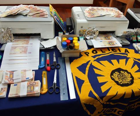 Falsificação de euros