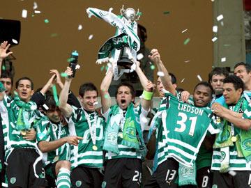 Sporting recebe 15ª Taça de Portugal