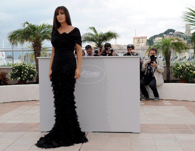 Monica Belluci durante o 61º Festival de Cinema de Cannes
