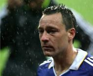 O desalento de Terry em Moscovo (EPA/ANATOLY MALTSEV)