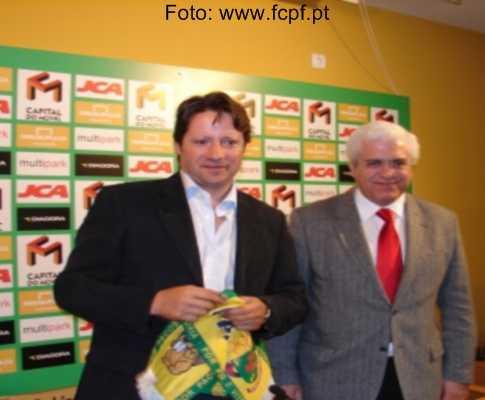 Paulo Sérgio no P. Ferreira