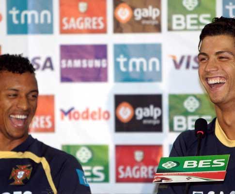 Nani e Ronaldo