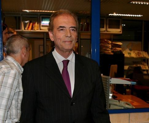 Patinha Antão à entrada do debate na SIC (LUSA)