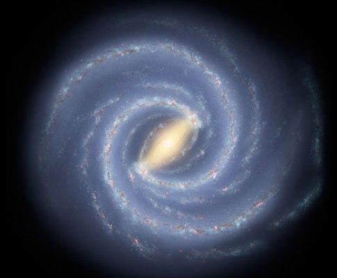 Via Láctea (foto NASA)