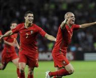 Portugal-Turquia, estreia no Euro 2008 (Foto EPA)