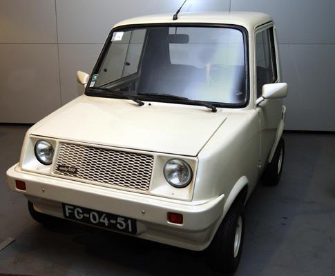 SADO 550, o primeiro carro em série português