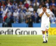 Karagounis durante o Grécia-Rússia, Grupo D do Euro-2008