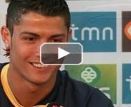C. Ronaldo e Petit em conferência de imprensa PLAY_VIDEO