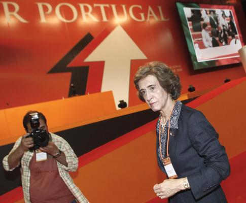 Ferreira Leite no XXXI Congresso do PSD, em Guimarães