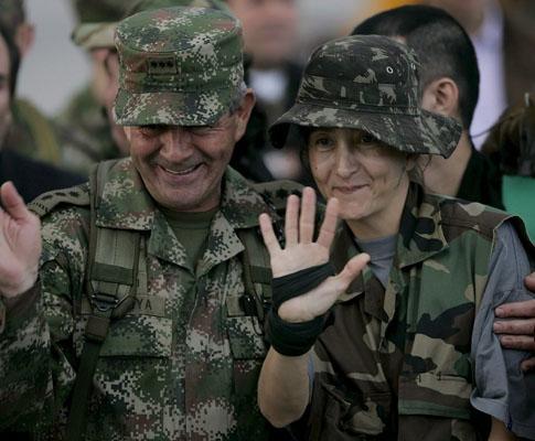 Reféns libertados pelas FARC