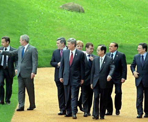 G8 - Líderes dos oito países mais ricos