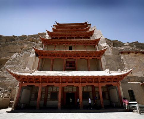 Grutas de Mogao, na China