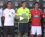 Benfica apresenta equipamentos para 2008/09 PLAY_VIDEO