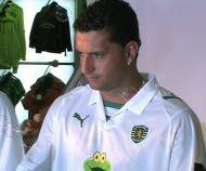 Sporting apresenta equipamentos para 2008/09