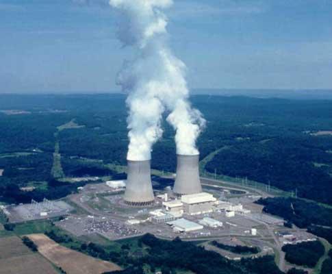 Central nuclear (arquivo)