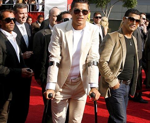 Ronaldo em Los Angeles (Foto EPA)