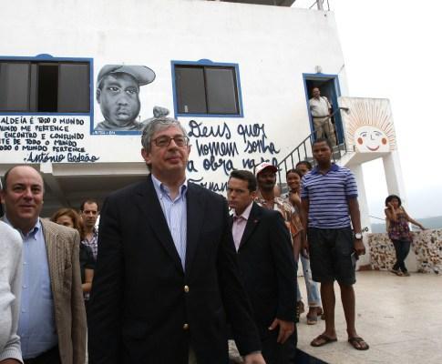 Rui Pereira visita Cova da Moura
