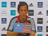Benfica: Quique Flores faz balanço positivo