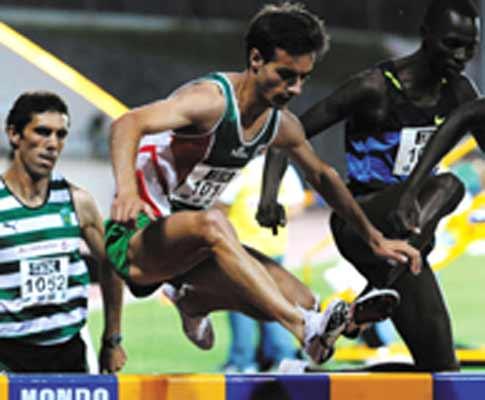 Alberto Paulo, atleta do Marítimo, qualifica-se para Pequim nos 3000m Obstáculos