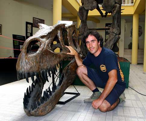 O Paleontólogo Octávio Mateus e sua nova descoberta