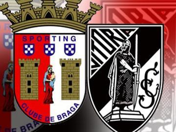 Sporting de Braga e Vitória de Guimarães