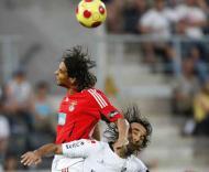 Nuno Gomes mais alto do que Flávio Meireles