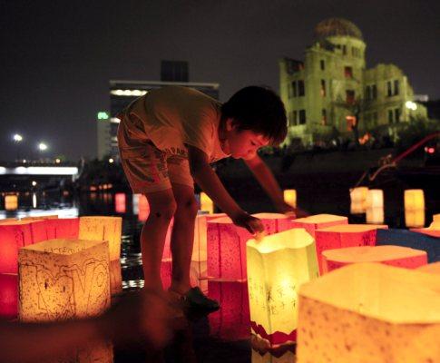 A bomba atómica caiu em Hiroshima a 6 de Agosto de 1945