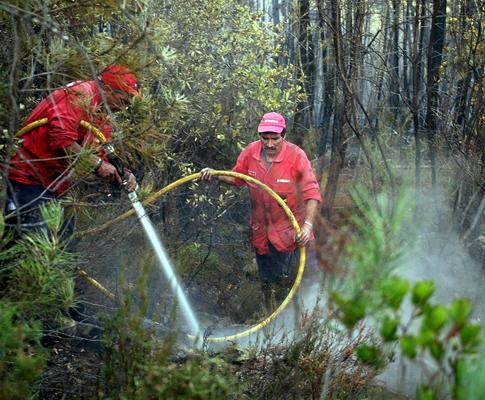 Incêndio em Oleiros