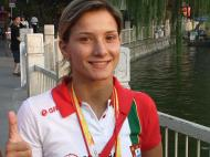 Jogos Olímpicos 2008, atleta Portuguesa Telma Monteiro