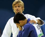Os judocas Ludwig Paischer e Choi Min-Ho