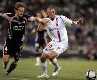 Toulouse-Lyon: Karim Benzema e Mauro Cetto