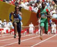 Francis Obikwelu mais rápido que o norte-americano Walter Dix
