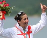 Vanessa Fernandes com a prata