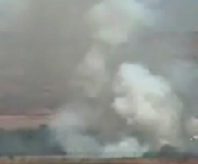 Acidente aéreo em Madrid