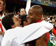 Nélson Évora campeão olímpico