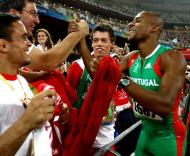 Nélson Évora, campeão olímpico