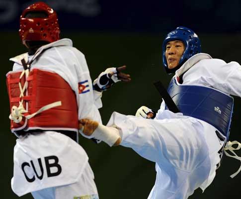 Taekwondo: o cubano agressor