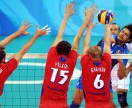 Rússia foi medalha de bronze no Voleibol