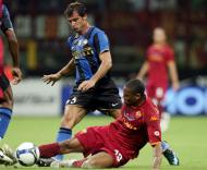 Inter-Roma para a Supertaça (EPA/MAtteo Bazzi)